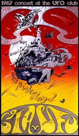 Pink Floyd, UFO Concert Poster, Osiris UK 1967, by lovegood_44