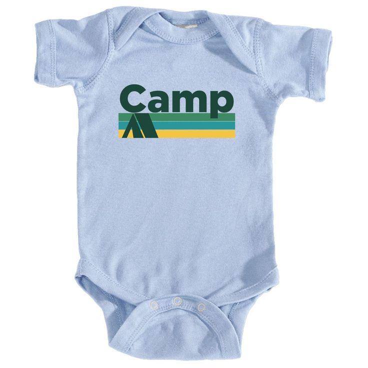 Camp Retro Camping - Infant Onesie/Bodysuit