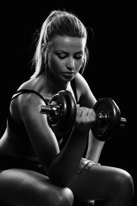 Crossfit Workouts - Woman Exercising