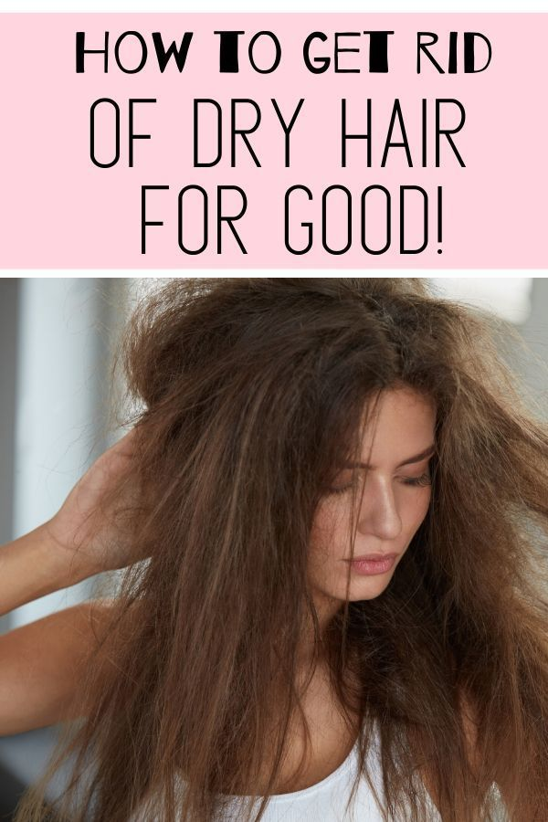 How To Get Rid Of Dry Damaged Hair Naturally Damaged Hair Heat Damaged Hair Baking Soda For Hair