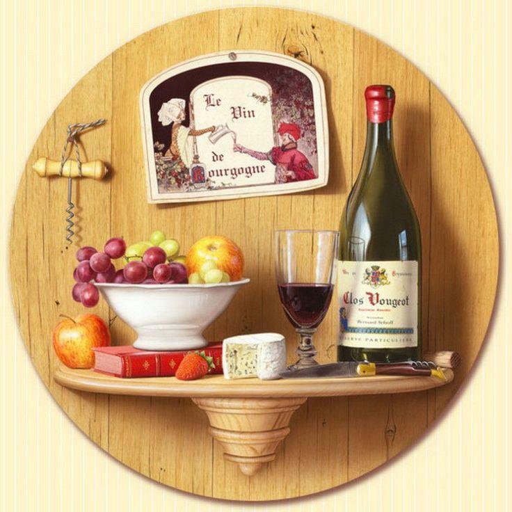 Красивые картинки для декупажа кухни