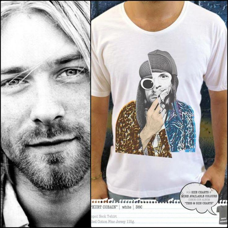 Get your own Kurt Cobain look & party! Order now at artifiedstore.com e-shop!!! MEN: http://www.artifiedstore.com/en/men/58-m01-kurt-cobain-t-shirt.html WOMEN: http://www.artifiedstore.com/en/w/83-w43-kurt-cobain-t-shirt.html