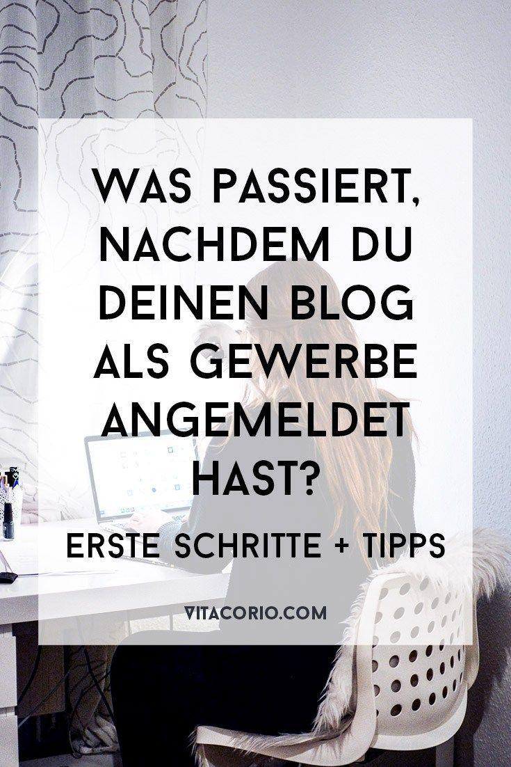 Was passiert, nachdem du deinen Blog als Gewerbe angemeldet hast: Erste Schritte und Tipps – Business-Tipps für Kreative