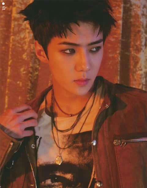"""[SCAN] EXO @ """"LOTTO"""" New Goods - Sehun"""