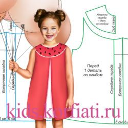 dress-with-a-yoke-for-girl