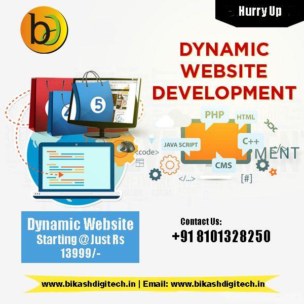 Dynamic Website At Rs 13999 Website Development Web Design Website