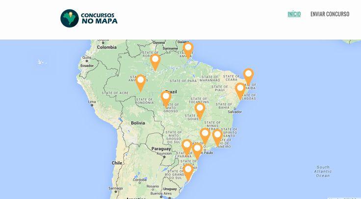 Concursos Publicos Abertos no Mapa do Brasil - Veja Agora >> http://concursosnomapa.com.br/abertos/