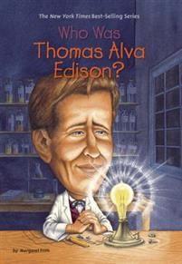 http://www.adlibris.com/se/organisationer/product.aspx?isbn=0448437651 | Titel: Who Was Thomas Alva Edison? - Författare: Margaret Frith, Who Hq, John O'Brien - ISBN: 0448437651 - Pris: 67 kr