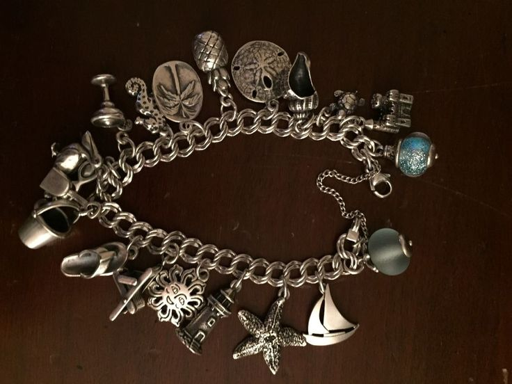 @JamesAvery #Beach lover's #JamesAvery #Charm #collection #sterling #silver #925