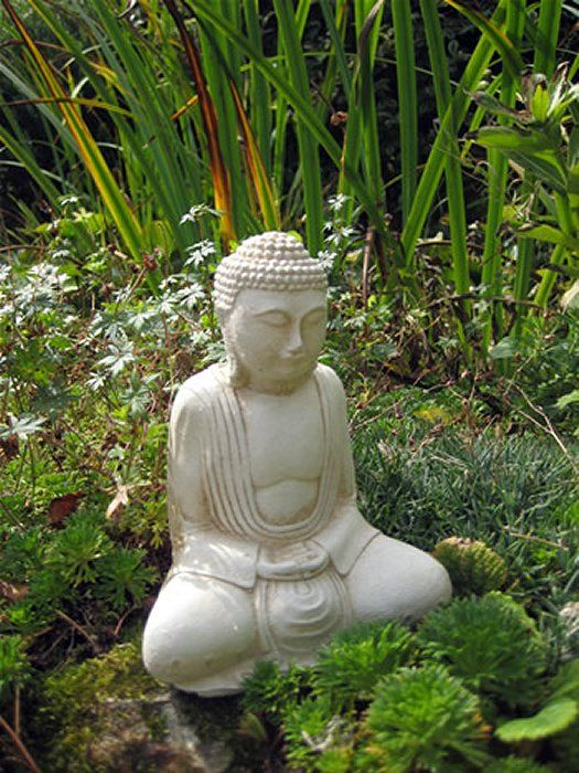 Awesome Small Buddha Garden Statue Garden Statues Add Interest To A Yard, Deck Or  Patio