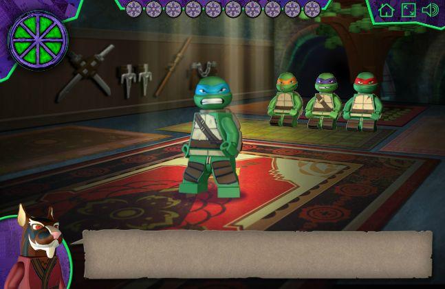 Un Juego donde tienes que ayudar a las Tortugas Ninjas donde El Maestro Splinter va a entrenar sus movimientos http://www.ispajuegos.com/jugar8528-Tortugas-Ninjas-Mutantes.html