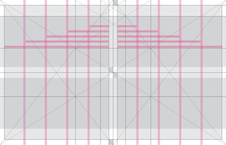Grid system. 5 columns, tabloid. #layout #grid #GraphicDesign #gridsystem @Bluetypo
