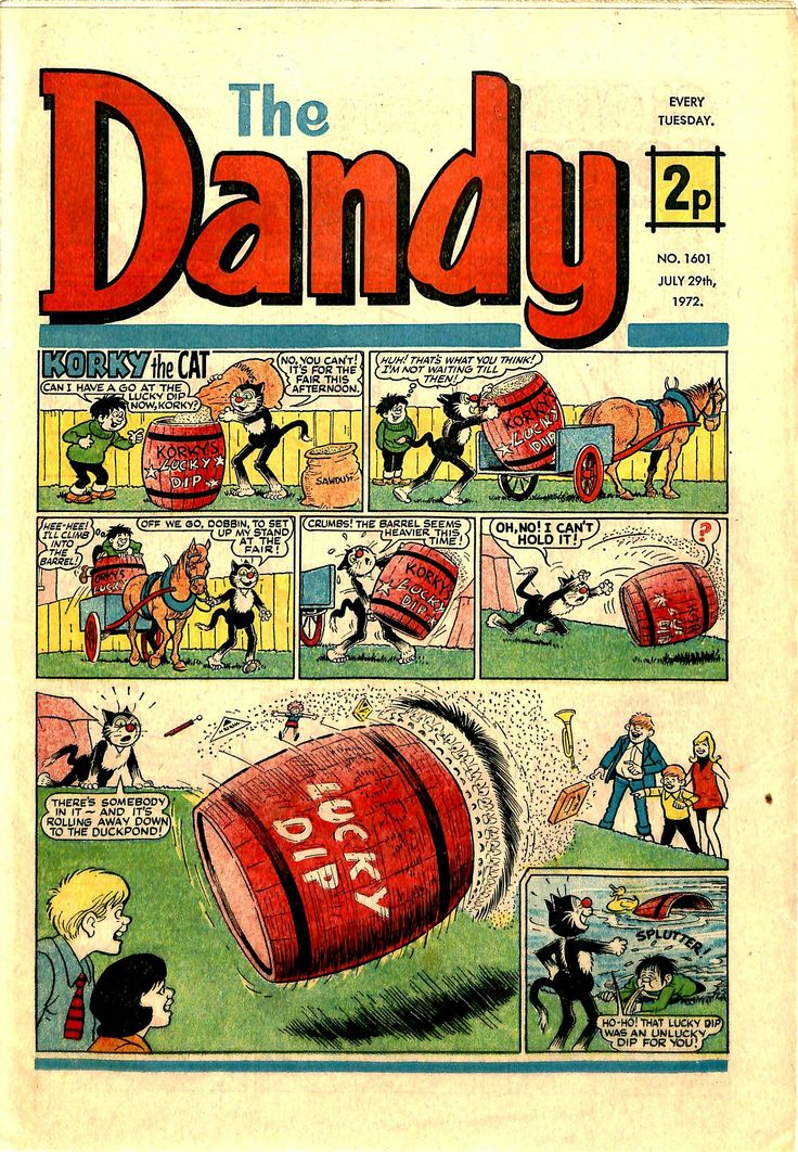 The Dandy No.1601 - 29th July 1972