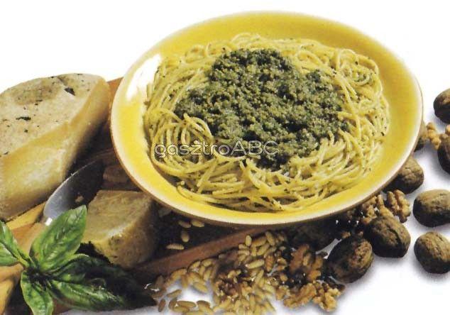 Spagetti toscanai pestóval | Receptek | gasztroABC