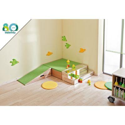 Podest-Kombination 11   Podest-Kombinationen   Podeste   Möbel & Raumgestaltung   Krippe & Kindergarten   Wehrfritz Deutschland