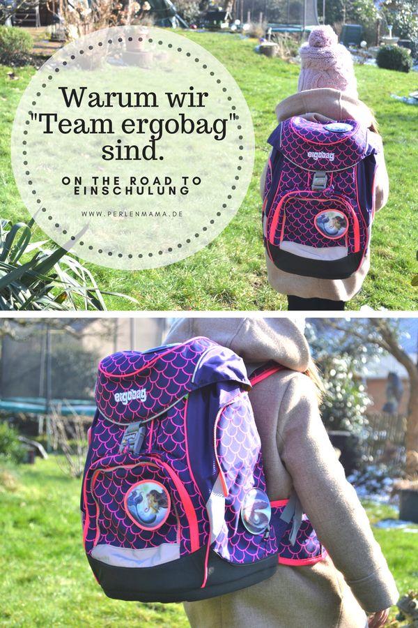 """Unser Schulranzen und warum wir """"Team ergobag"""" sind...und warauf wir in Sachen Schultasche achten.  #werbung #Schulranzen #Schultasche #Einschulung #Vorschule #Schule"""