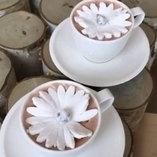 Dominique Ansel is offering a blooming marshmallow on hot chocolate in Japan.