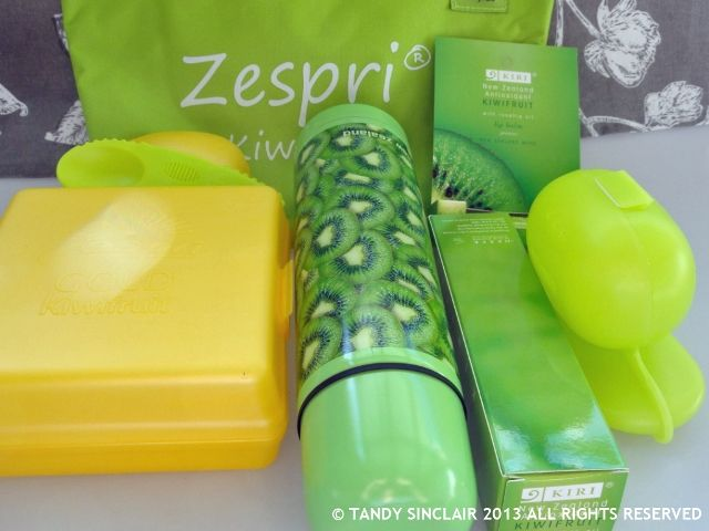 A Hamper Full Of Zespri Goodies Zespri Kiwi Fruit Hamper Give Away from Lavender and Lime