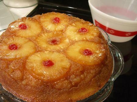 Pineapple Upside Down Cake...