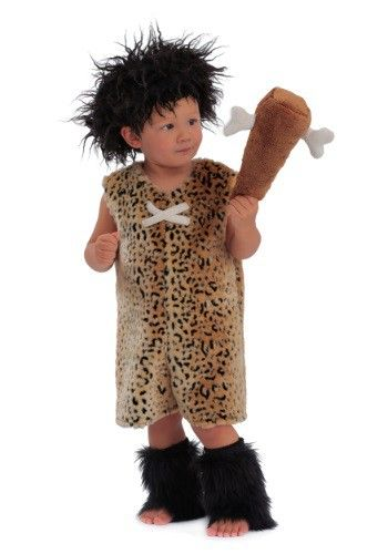 Make your child the cutest prehistoric neanderthal with this Toddler Caveman Costume!