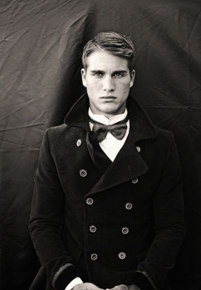 ...The boy is pretty, but too young for my taste.  His jacket, on the other hand, is divine!