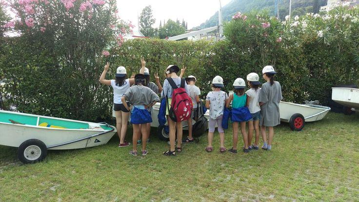 I bimbi della scuola vela 2016