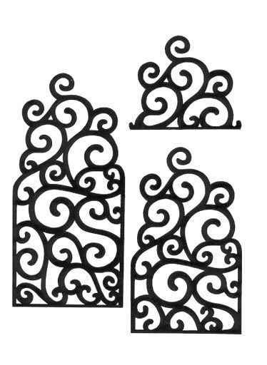 chocolate or royal icing piping templates | royal icing figures & patterns |