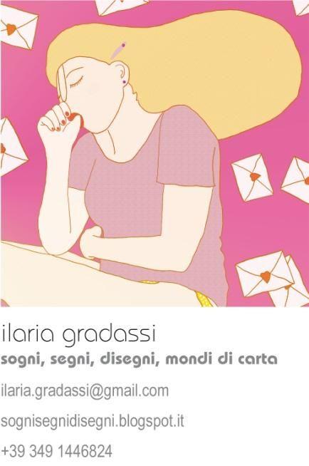 Ilaria Gradassi #illustrazione #storie #libri fatti a mano #Arezzo http://sognisegnidisegni.blogspot.it