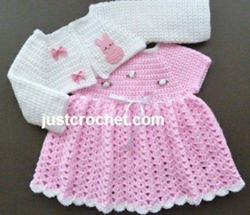 Free Crochet Pattern: Sugar N Spice Dress – Make It Crochet