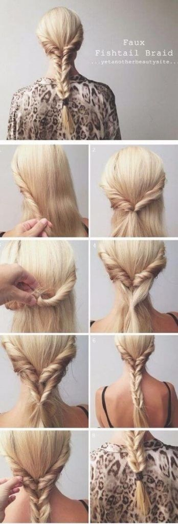 50 unbelievably simple hairstyles for the school