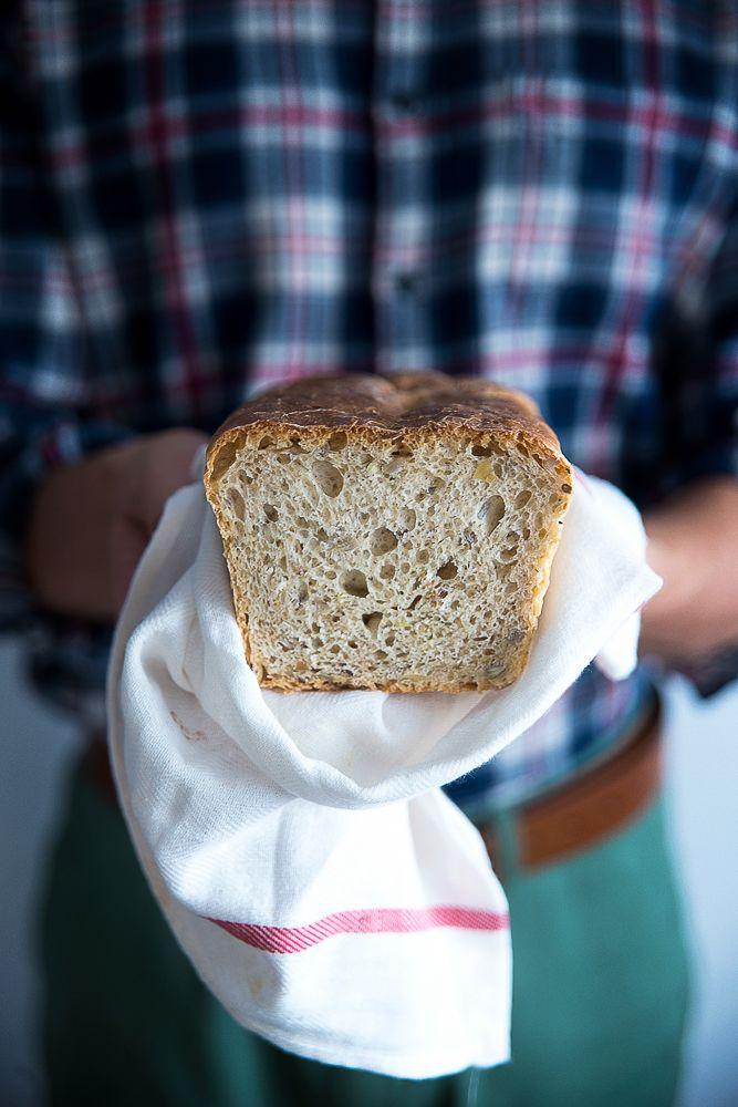 picante-jalapeno.blogspot.com: Domowy chleb na zakwasie, ze słonecznikiem