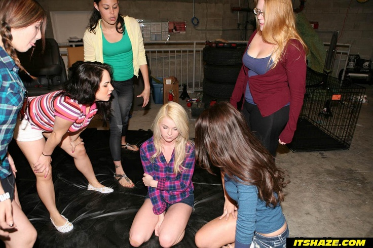 college girls gang bang