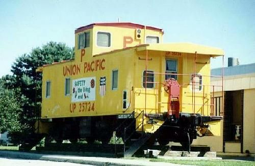 I would also love to have a cute caboose studio in the back yard one day....once we own the 30+ acre property that would support such a frivolity!
