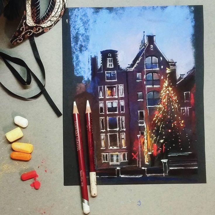 Всем привет! И третье задание нашего #арт_баттл будет для пастельной техники. Дело близится к Новогодним праздникам, задание тоже будет праздничным: ⭐Необходимо нарисовать сюжет с Новогодней елкой. Елка может стать главной героиней картины, а может красиво вписываться в зимний ландшафт или городские улочки.⭐Задание должно быть выполнено сухой пастелью или в смешанной технике с использованием пастельных мелков ⭐Работа выполняется для конкурса и публикуется впервые ⭐Для участия необходимо…