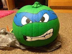 mutant ninja turtle pumpkin - Bing Images