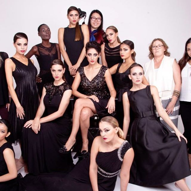 Surround yourself with fierce women and you are always in good company... #lenakasparian #bridal #bridesmaid #women #couture #australiandesigner #australiandesign #sequin #eveninggown #dress #designer #design #squad #squadgoals #models