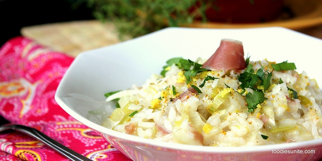 Fennel and Leek Risotto with Prosciutto | Recipes to Try (Mains-1 ...