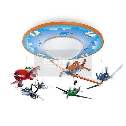 #Philips #Disney Oprawa sufitowa Planes 71762/53/16 : Oświetlenie #dziecięce : #Sklep_internetowy #Elektromag