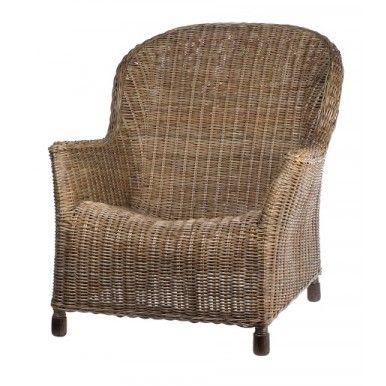 Georgia Chair - Vintage Rattan