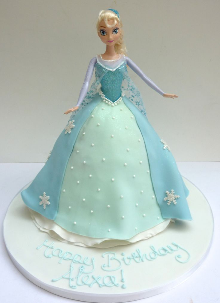 Elsa Doll Cake Images : 1000+ ideas about Frozen Doll Cake on Pinterest Doll ...
