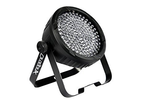DragonX 177 LEDs Slim Par DJ Lights- RGB Amber Can 64 LED...