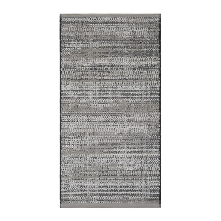 Coordinate your bathroom with this Lark towel from Amara. In soft grey tones with a hint of silver, this luxurious towel effortlessly complements an existing interior. Made in Portugal from 100% cotto