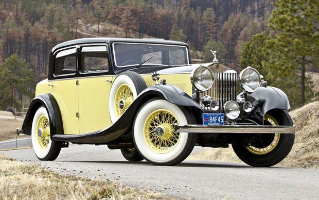 1935 Rolls-Royce 20/25 Sports Saloon