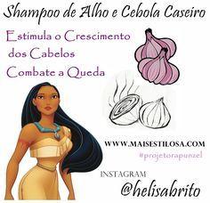 Shampoo de Cebola e Alho Caseiro: Combate a Queda e Estimula o Crescimento                                                                                                                                                                                 Mais