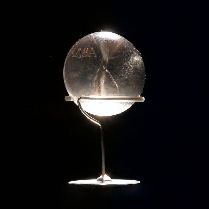 A mysterious crystal ball