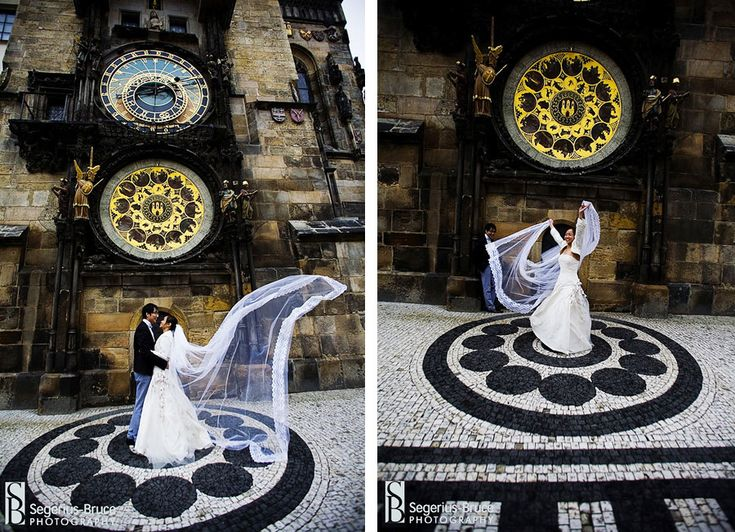 So awesome! In front of astronomical clock in Prague