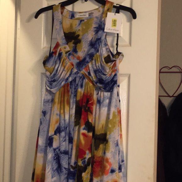 Selling this Calvin Klein Dress in my Poshmark closet! My username is: silvering0420. #shopmycloset #poshmark #fashion #shopping #style #forsale #Calvin Klein #Dresses