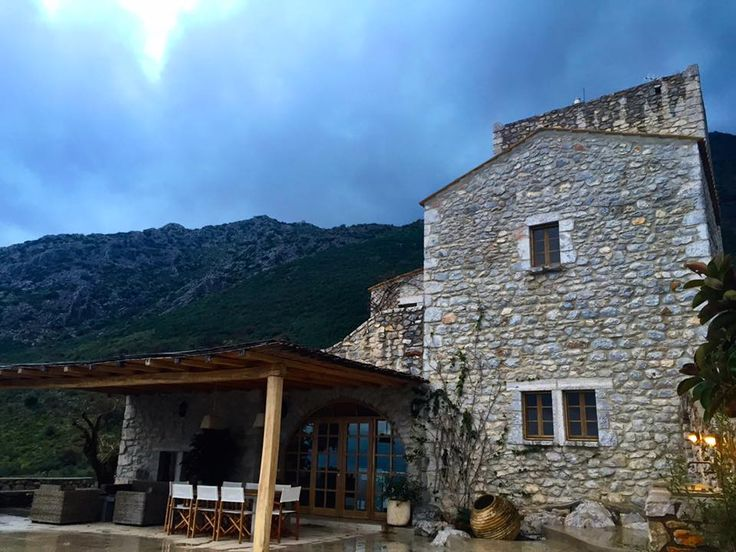 Villa Onor Mani on a moody evening