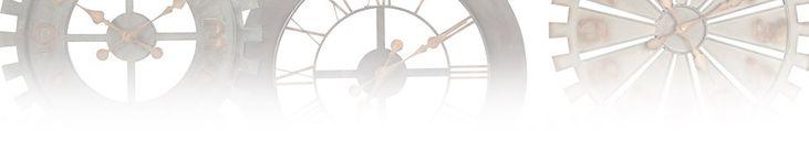 Stationsklok, grote klok in industriële stijl | Maisons du Monde