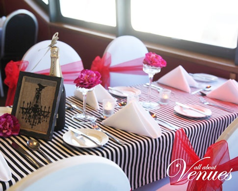 Place Settings On Rivers Voyager